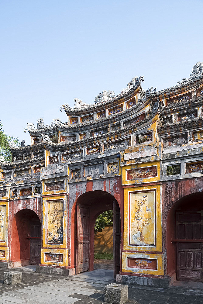 The Chuong Duc Gate in the in the Imperial City, The Citadel, UNESCO World Heritage Site, Hue, Vietnam, Indochina, Southeast Asia, Asia