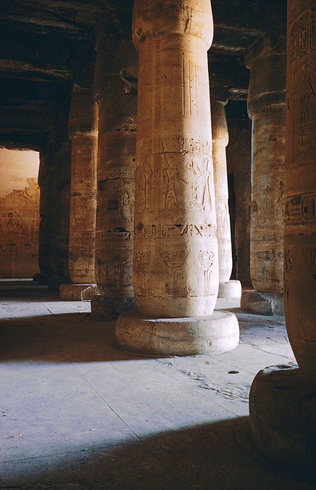 Temple of Sethos I, Abydos, Egypt, North Africa