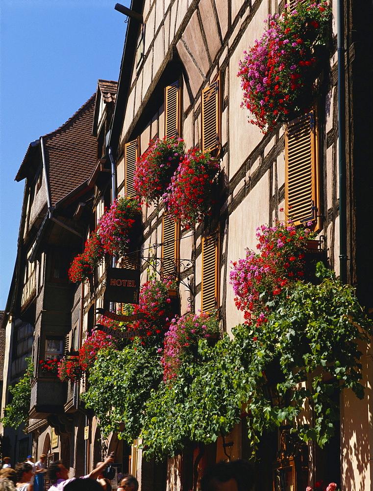 Hotel du Dolder, Riquewihr, Alsace, France