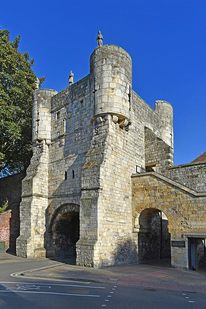 Bootham Bar, York, Yorkshire, England, United Kingdom, Europe - 190-9829