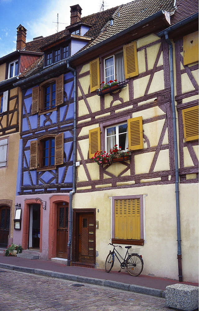 Timber Framed Buildings, Colmar, Alsace, France - 197-3593