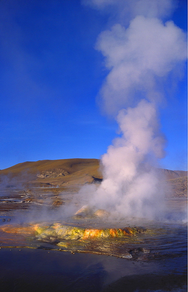 Geysers and Fumaroles, El Tatio, Atacama, Chile - 197-4124