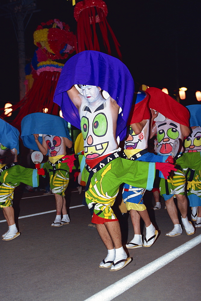 Hokkai Heso Festival, Furano, Japan, Asia