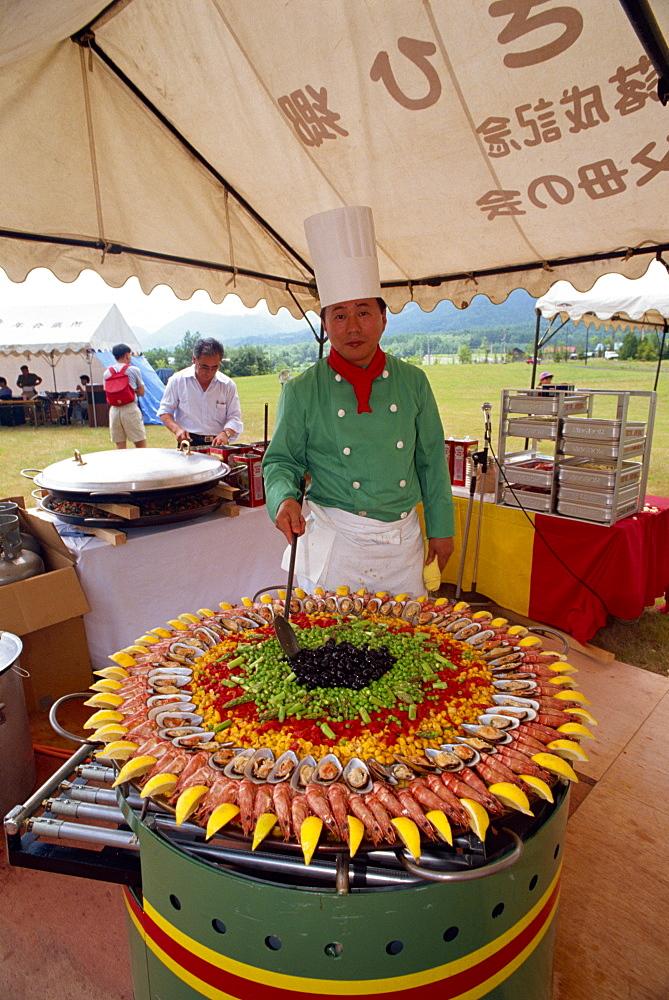 Chef, Furano, Hokkaido, Japan, Asia