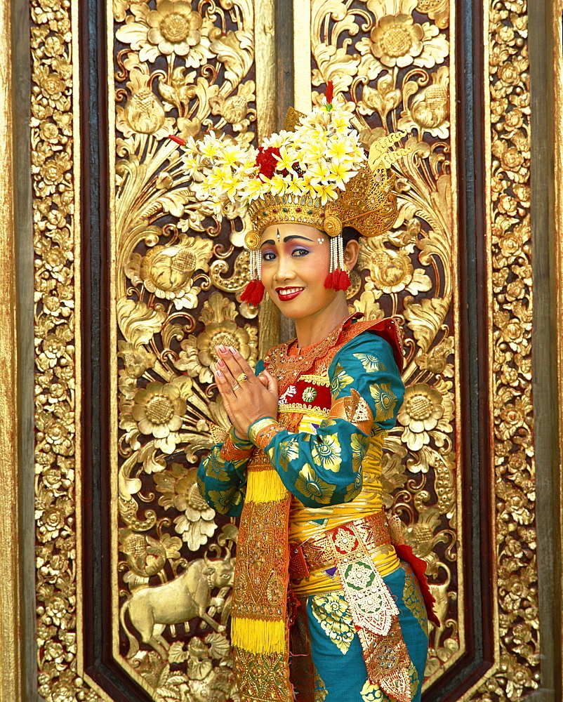 Legong dancer, Bali, Indonesia, Southeast Asia, Asia