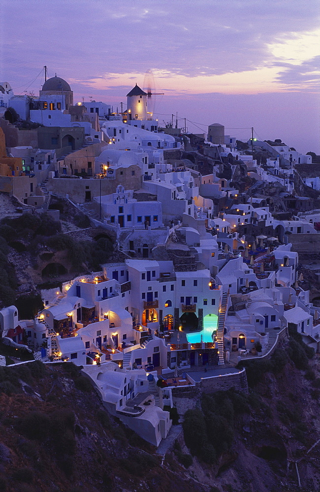 Village of Oia, Santorini, Cyclades, Greece - 252-7447