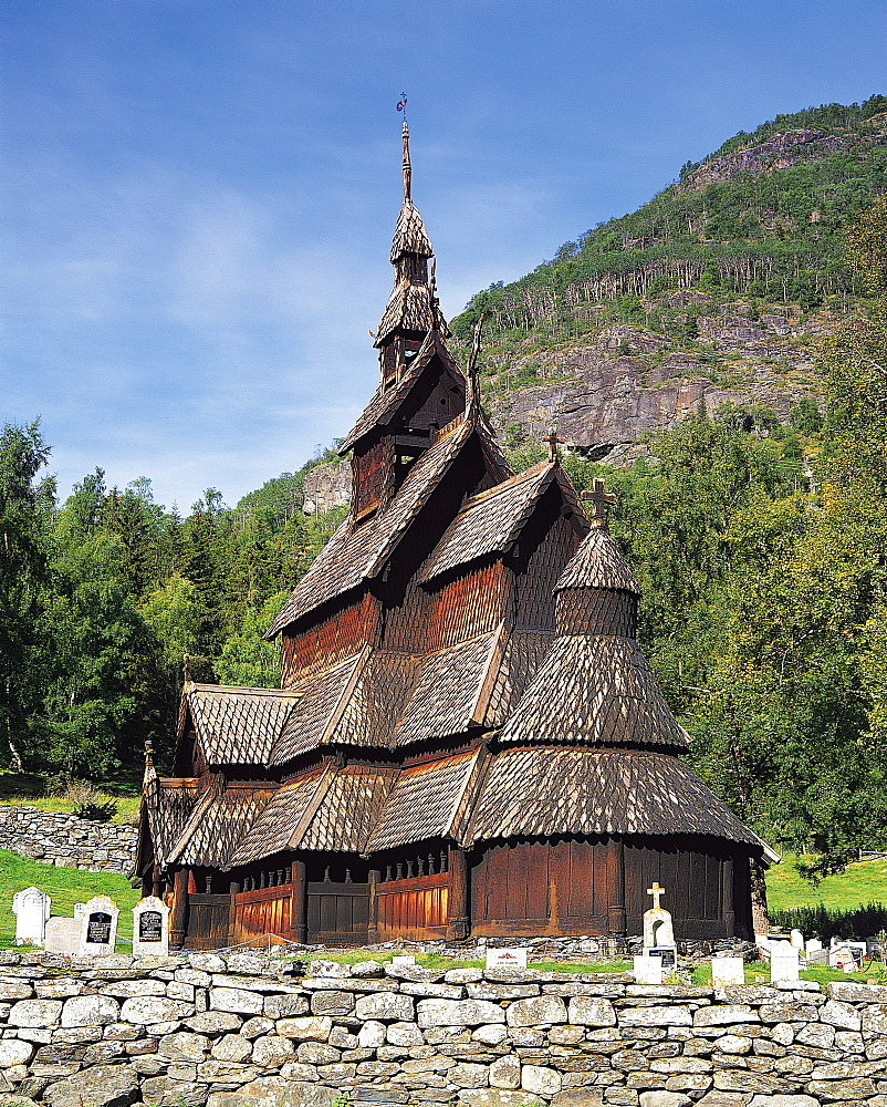 Borgund Stave Church, Norway - 252-7967