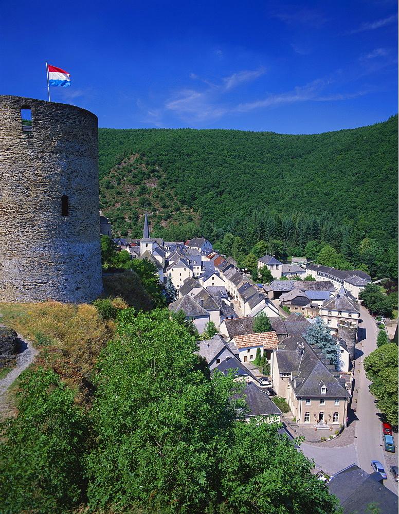 Esch Sur Sure Castle, Esch Sur Sure, Luxembourg - 252-9609