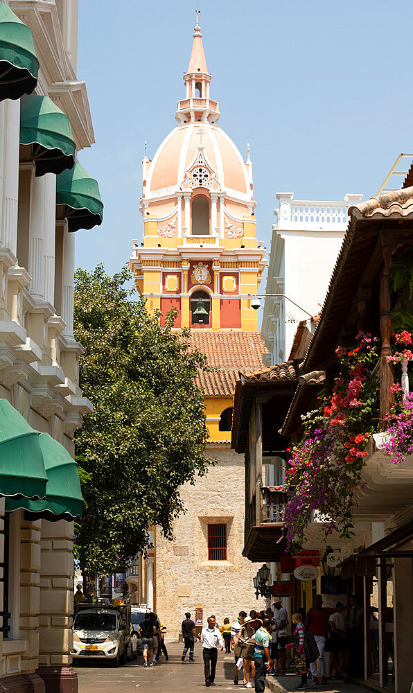 Cartagena, Colombia; Cathedral Basilica of Saint Catherine of Alexandria
