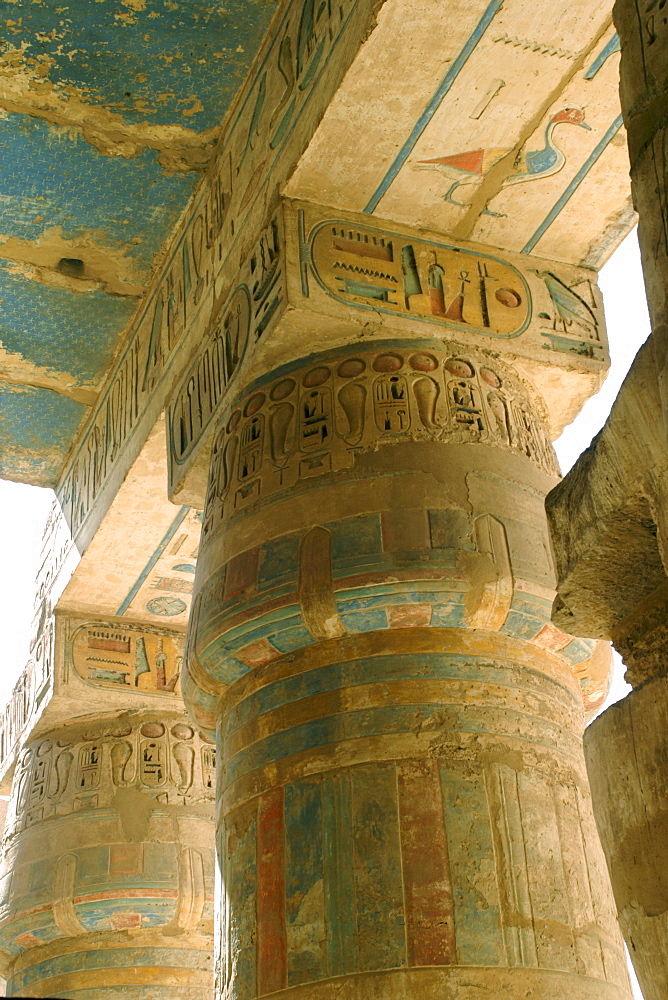 Medinet Habu Temple, Thebes, UNESCO World Heritage Site, Egypt, North Africa, Africa