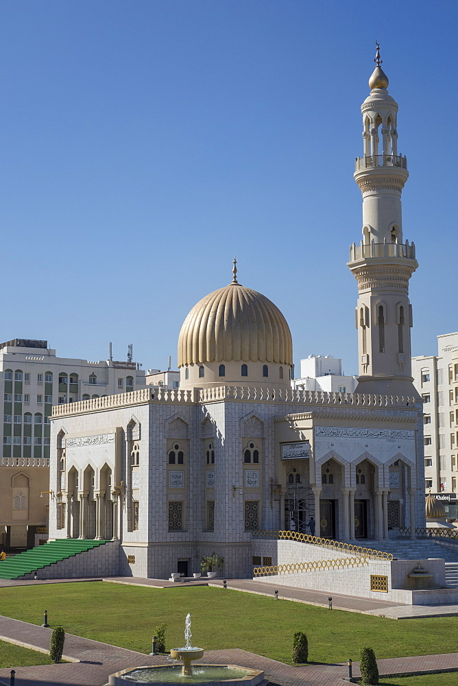 Zawawi Mosque, Muscat, Oman, Middle East - 306-4396