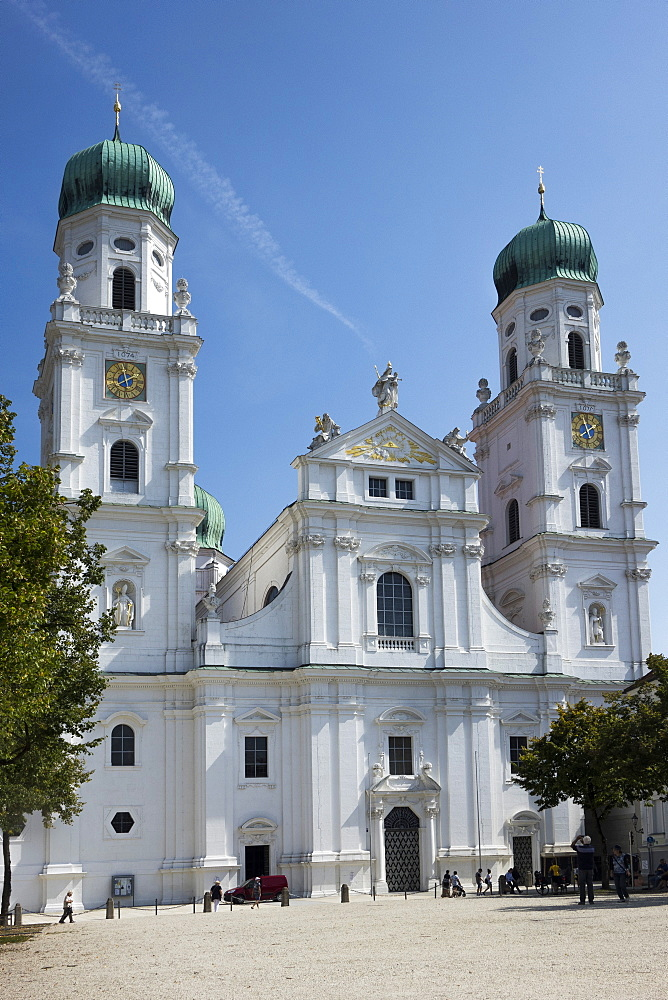 St. Stephens Cathedral, Passau, Lower Bavaria, Germany, Europe - 306-4433