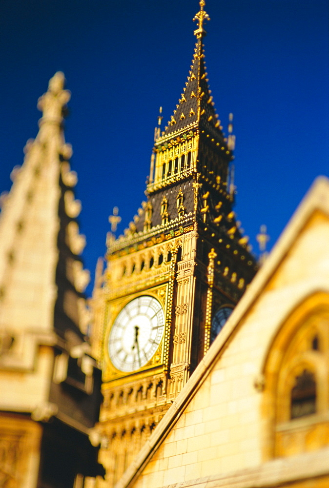 Big Ben, Houses of Parliament, Westminster, UNESCO World Heritage Site, London, England, UK, Europe - 321-2381