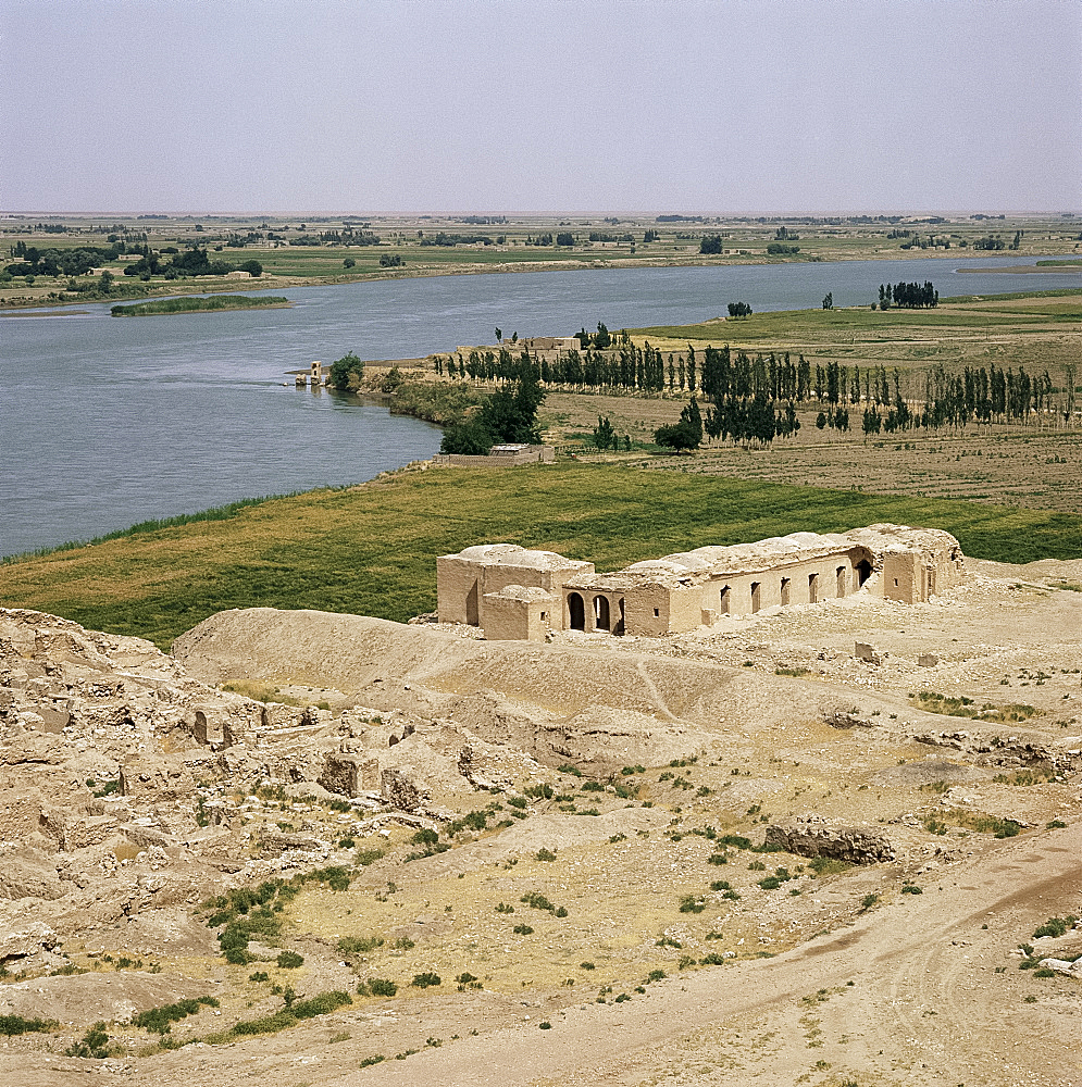 Mari and the Euphrates River, Syria, Middle East