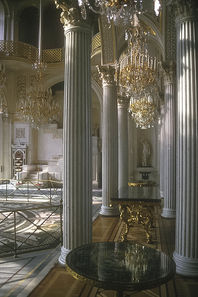 Pavilion Hall, Small Hermitage, St Petersburg, Russia *** Local Caption ***