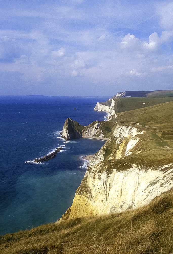 Near Durdle Door, Dorset, England *** Local Caption ***