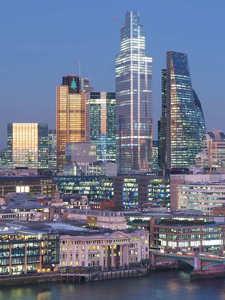City of London, Square Mile, image shows completed 22 Bishopsgate tower, London, England, United Kingdom, Europe - 367-6279