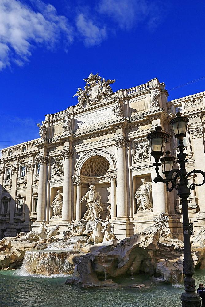 Fontana di Trevi, Rome, Latium, Italy
