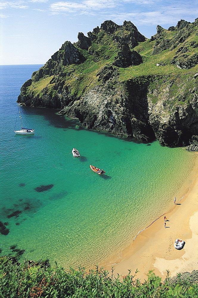Devon Coast, England, United Kingdom - 397-2455