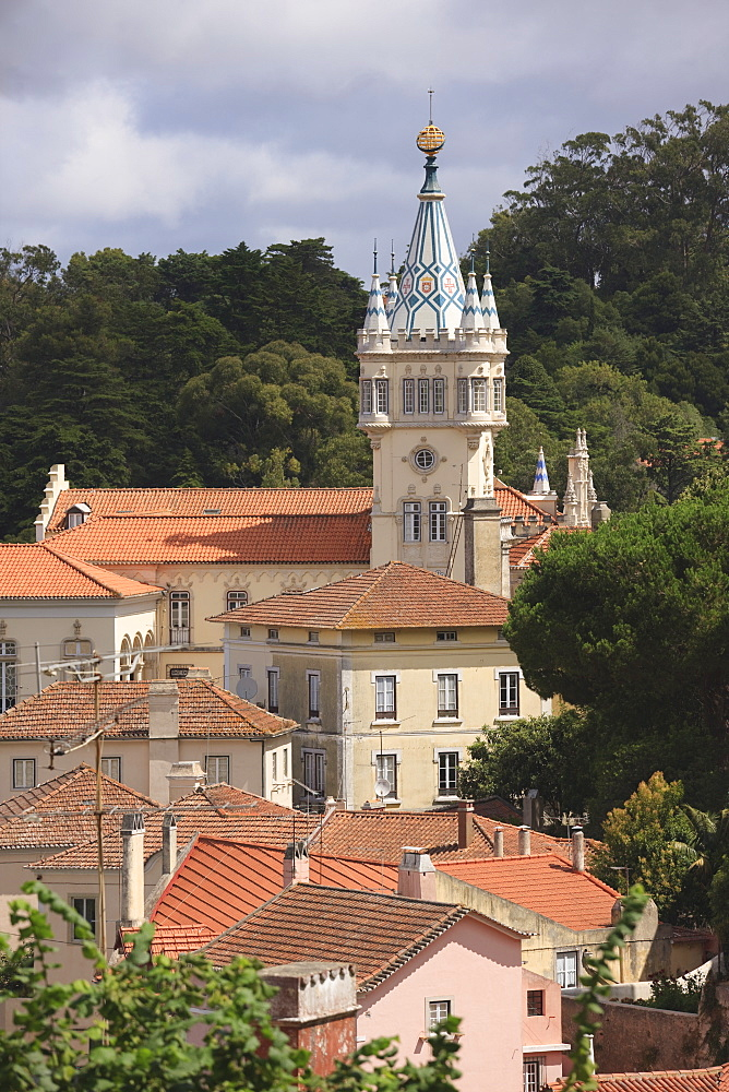 The Town Hall, Sintra, UNESCO World Heritage Site, Portugal, Europe