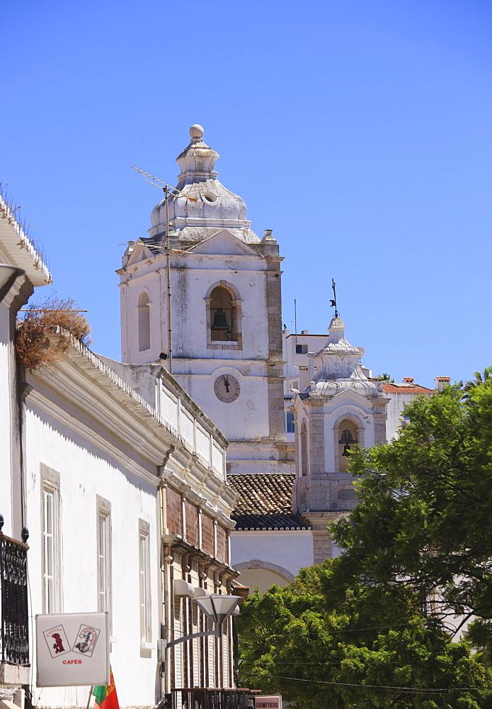 Igreja de Santo Antonio, 18th century Baroque church, Lagos, Algarve, Portugal, Europe - 462-2462