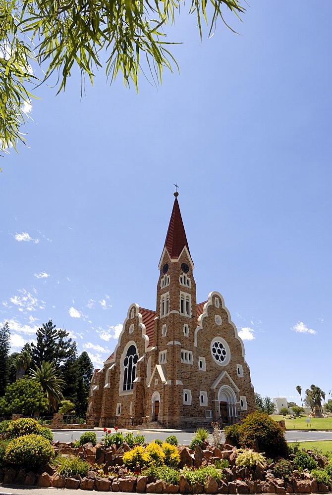 Picturesque church, Windhoek, Namibia, Africa