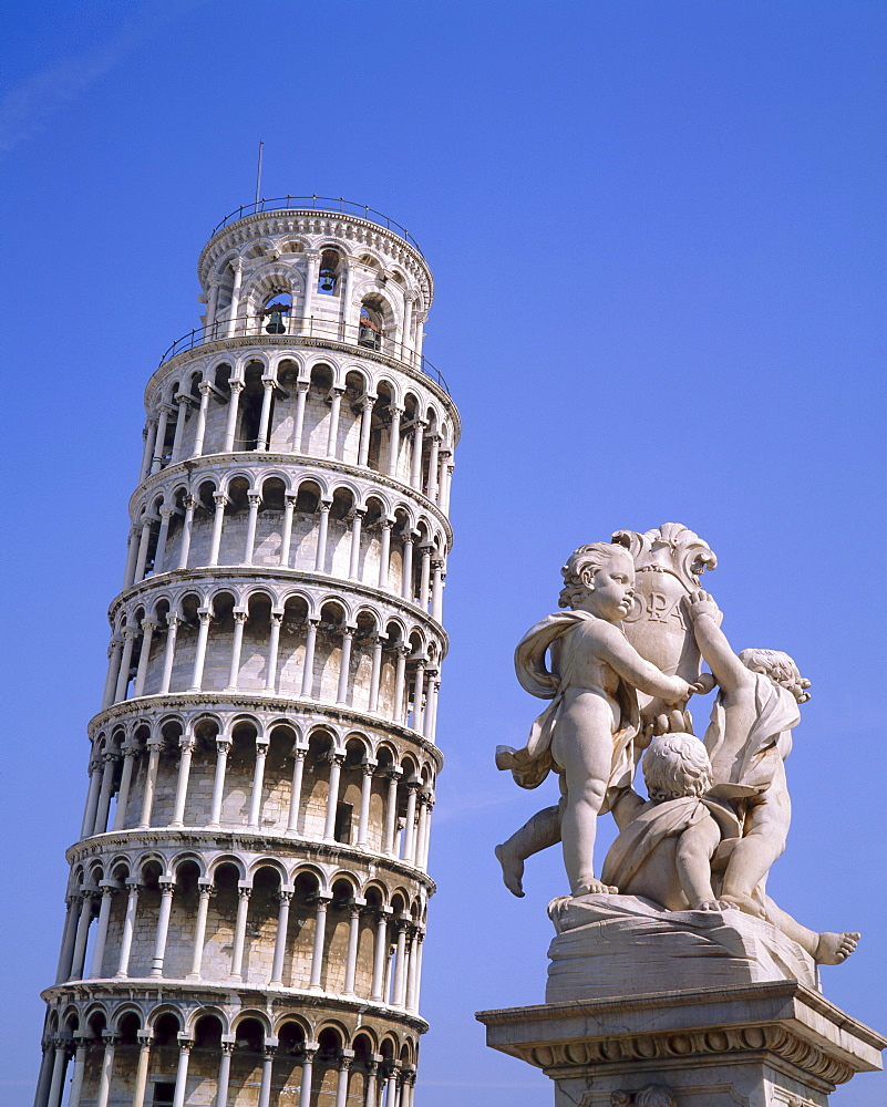 The Leaning Tower of Pisa, Pisa, Tuscany, Italy  - 485-1684