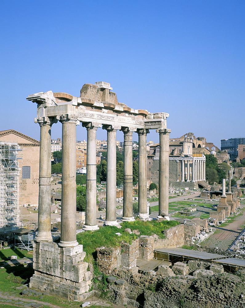 The Forum, UNESCO World Heritage Site, Rome, Lazio, Italy, Europe