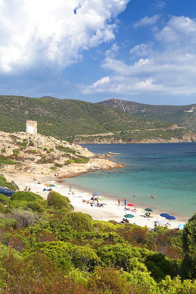 Costa del Sud, near Chia, Cagliari Province, Sardinia, Italy, Mediterranean, Europe - 526-3798