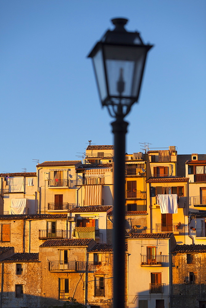 Village houses, Gratteri, Palermo Province, Sicily, Italy, Mediterranean, Europe - 526-3801