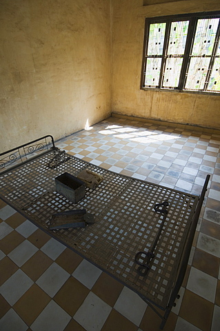 The Genocide Museum in a former school that was used by Pol Pot for torture, imprisonment and execution, Phnom Penh, Cambodia, Indochina, Southeast Asia, Asia