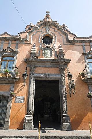La Casa de la Marquesa Hotel in Santiago de Queretaro (Queretaro), UNESCO World Heritage Site, Queretaro State, Mexico, North America - 641-10887