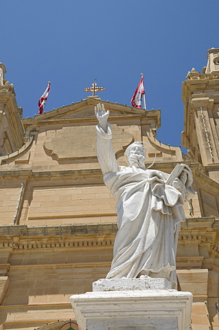 Church at Ghasri, Gozo, Malta, Europe