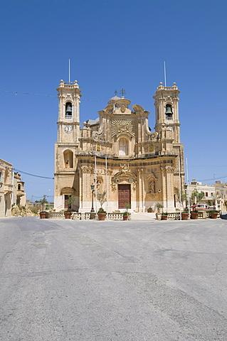 Church of the Visitation, Gharb, Gozo, Malta, Europe