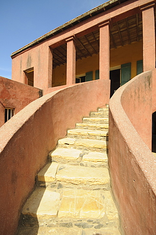 Maison des Esclaves (Slaves House), Goree Island, UNESCO World Heritage Site, near Dakar, Senegal, West Africa, Africa - 641-11643