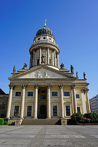 French Cathedral (Franzsischer Dom), Gendarmenmarkt, Berlin, Germany, Europe