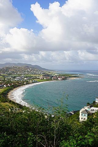 Atlantic coast, St. Kitts, St. Kitts and Nevis, Leeward Islands, West Indies, Caribbean, Central America