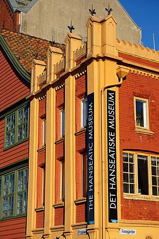 Hanseatic museum building, Bryggen, Bergen, Norway, Hordaland, Scandinavia - 641-13267