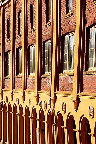 Hanseatic museum building, Bryggen, Bergen, Norway, Hordaland, Scandinavia