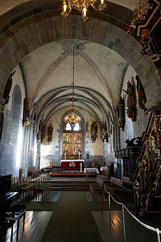 St. Mary's Church, Bryggen District, Bergen, Hordaland, Norway, Scandinavia, Europe