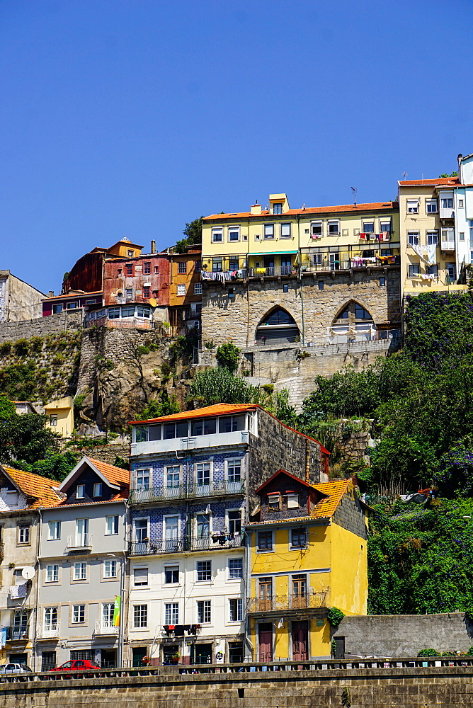 Ribeira district, UNESCO World Heritage Site, Porto (Oporto), Portugal, Europe - 641-13399