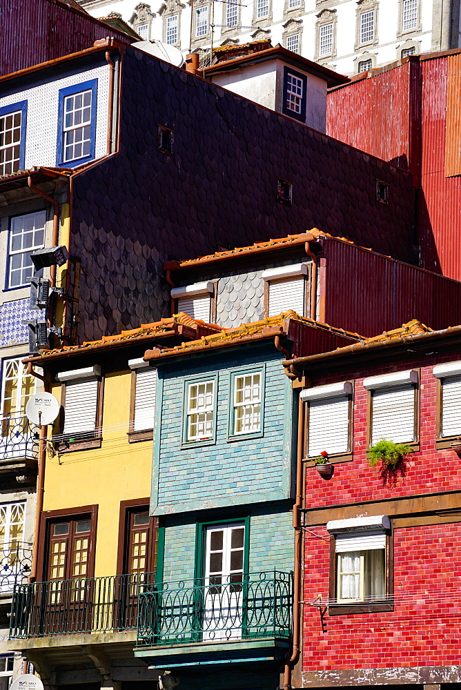 Ribeira district, Porto, Unesco World Heritage Site, Porto, also known as Oporto,Portugal
