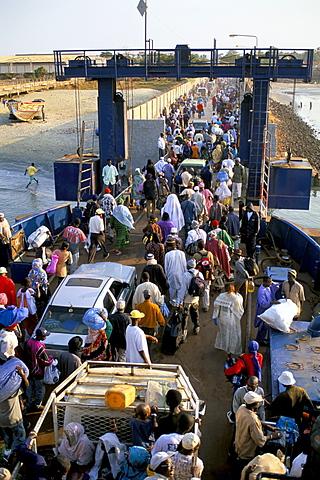 Banjul to Bari ferry, Banjul, The Gambia, West Africa, Africa