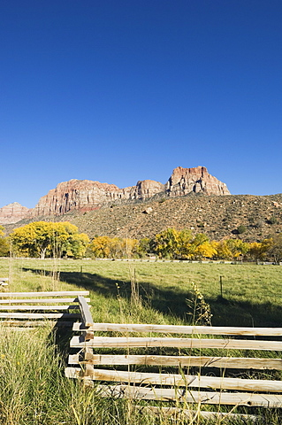 Landscape near Zion National Park, Utah, United States of America, North America