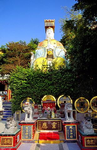 Buddha Statue, Temple Garden, Repulse Bay, Hong Kong Island, Hong Kong - 645-2011