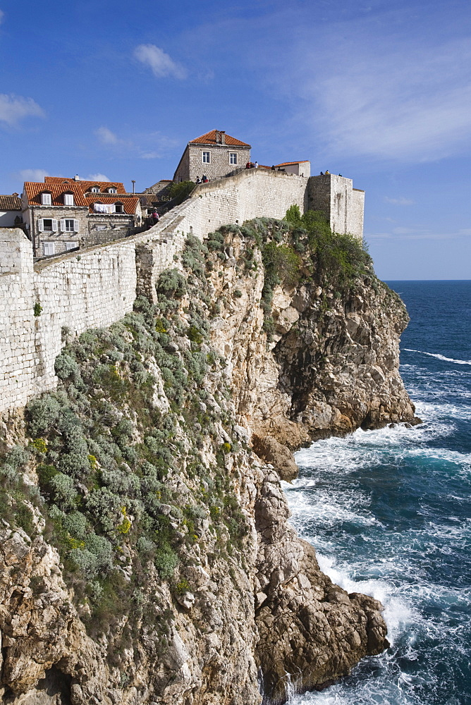 City Wall view, UNESCO World Heritage Site, Dubrovnik, Croatia, Europe