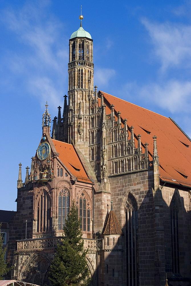 Unsere Liebe Frau Church (Church of Our Lady), Nuremberg, Bavaria, Germany, Europe