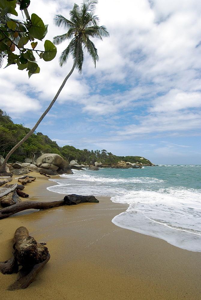 Arenilla Beach, Tayrona National Park, Colombia, South America
