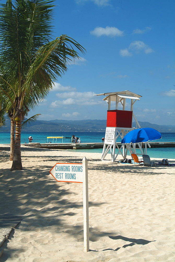 Doctor's Cave Beach, Montego Bay, Jamaica, West Indies, Caribbean, Central America - 685-2615