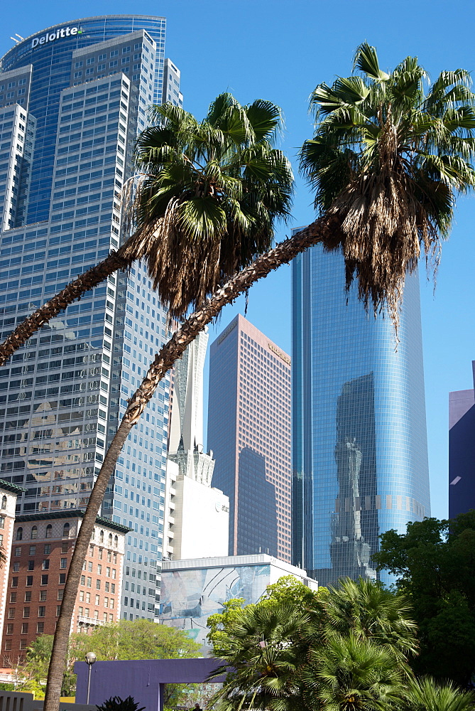Pershing Square, Los Angeles, California, United States of America, North America - 685-2637